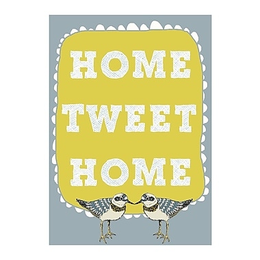 Evive Designs Home Tweet Home by Felt Mountain Studios Graphic Art