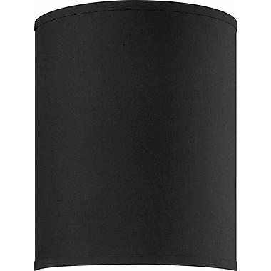Volume Lighting 9'' Fabric Drum Wall Sconce Shade