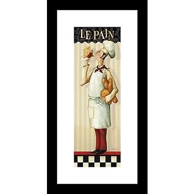 Printfinders 'Chef's Masterpiece III' by Lisa Audit Framed Vintage Advertisement