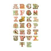 Evive Designs Alphabet Paper Print