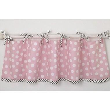 Cotton Tale Poppy Straight 54'' Curtain Valance