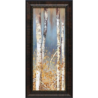 Artistic Reflections Butterscotch Birch Trees I by Pearce, Allison Framed Painting Print