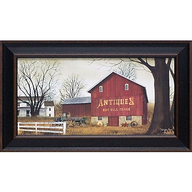 Artistic Reflections Antique Barn by Jacobs, Billy Framed Painting Print