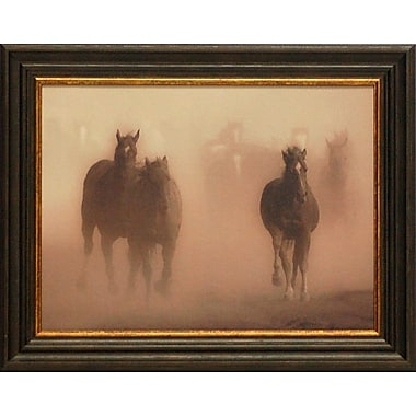 Artistic Reflections Ghost Horses by Crandall, Gary Framed Photographic Print