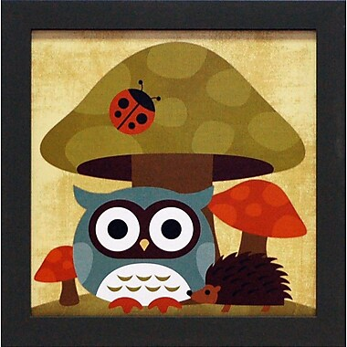 Artistic Reflections Owl and Hedgehog by Lee, Nancy Framed Graphic Art