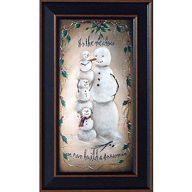 Artistic Reflections In the Meadow by McGinnis, Margie Framed Graphic Art