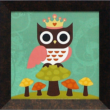 Artistic Reflections Princess Owl by Lee, Nancy Framed Graphic Art