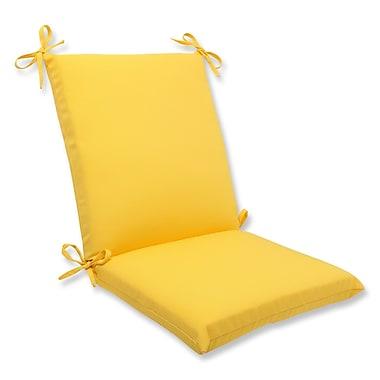Pillow Perfect Fresco Outdoor Lounge Chair Cushion; Yellow