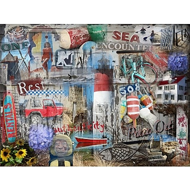 Graffitee Studios Cape Cod Authenticity - Eastham Graphic Art on Wrapped Canvas