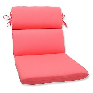 Pillow Perfect Fresco Outdoor Lounge Chair Cushion; Melon