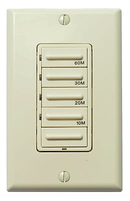 Panasonic WhisperControl Preset Switch; Light Almond WYF078276785507