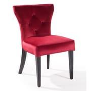 Armen Living Elise Parson Chair; Red