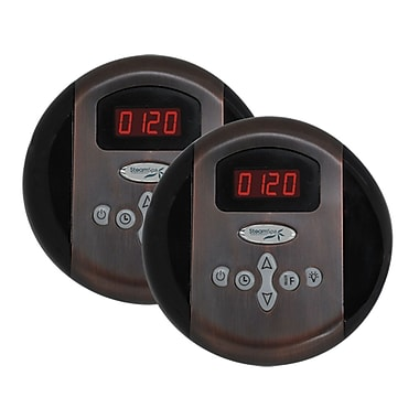 Steam Spa SteamSpa Programmable Dual Control Panels in Oil Rubbed Bronze