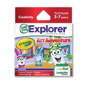 "LeapFrog® Explorer™ ""Crayola Art Adventure"" Learning Game, Ages 3-7 Years"