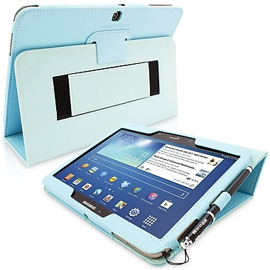 Snugg Polyurethane Leather Folio Case Cover and Flip Stand for 10.1