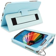 """Snugg Polyurethane Leather Folio Case Cover and Flip Stand for 7"""" Samsung Galaxy Tab 3"""