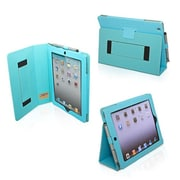 Snugg Polyurethane Leather Folio Case and Flip Stand for Apple iPad 2