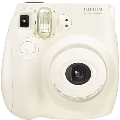 Fujifilm Instax Mini 7S Instant Film Camera, 60 mm, White