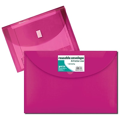 Better Office Products Reusable Envelope, A-4 Size
