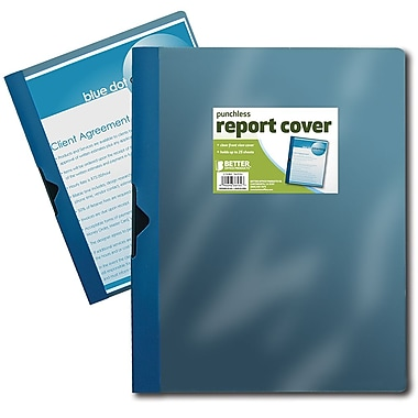 Better Office Products Non-Stick Poly Report Cover (36534)