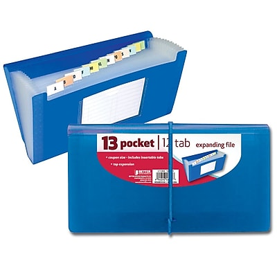 Better Office Products Pocket Expanding File