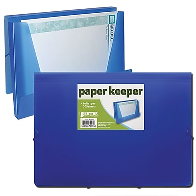 Better Office Products Paper Keeper (Frosted); 24/Pack
