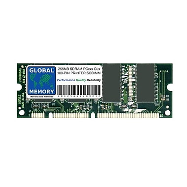 Lexmark 256MB SDRAM (100 Pin DIMM) 100 MHz (PC100) Memory Module For T430/430d/430dn/430dtn