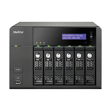 QNAP VS-6112-PRO+-US 12 Channel 6 Bays Network Attached Storage Server For S MBs