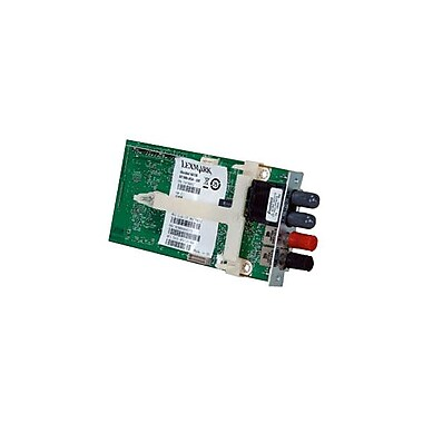 Lexmark – Trousse pour serveur d'impression sur fibre Ethernet 100 BaseFX MarkNet N8130 pour LexmarkC925de