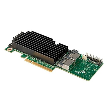 Intel RMS25PB080 8 Plug-In Card 6 Gbps Integrated SATA/SAS RAID Controller