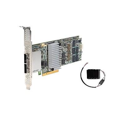 Intel – Carte contrôleur RAID SATA/SAS, enfichable, 6 Gb/s, dotée de 8 ports SAS, RS25SB008