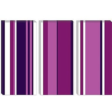 iCanvas Ultra Vivid Violet Graphic Art on Wrapped Canvas; 8'' H x 12'' W x 0.75'' D