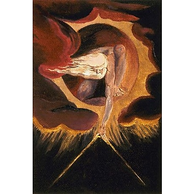 iCanvas 'The Ancient of Days 1794' by William Blake Painting Print on Canvas