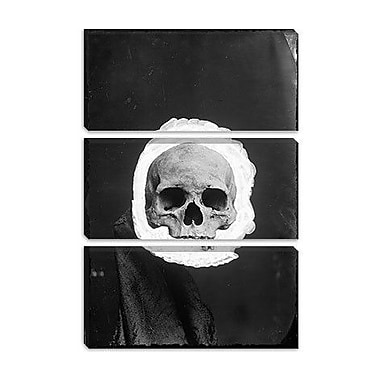 iCanvas Skeleton Graphic Art on Wrapped Canvas; 18'' H x 12'' W x 1.5'' D