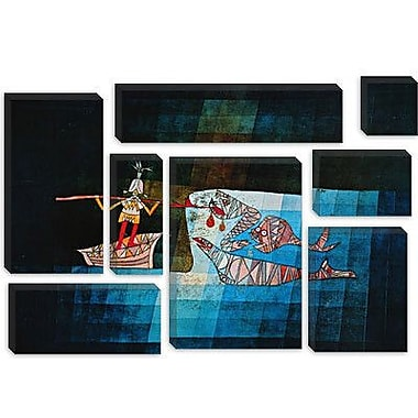 iCanvas 'Sinbad the Sailor' by Paul Klee Painting Print on Canvas; 26'' H x 40'' W x 0.75'' D