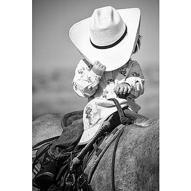 iCanvas ''True Cowgirl'' Canvas Wall Art by Dan Ballard; 40'' H x 26'' W x 0.75'' D