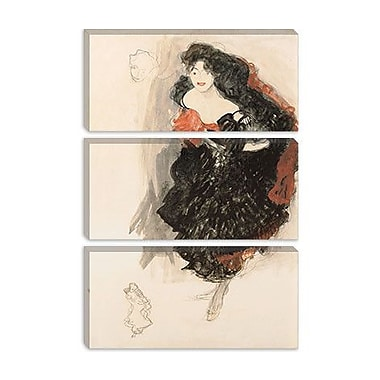 iCanvas 'Study for Judith ll' by Gustav Klimt Painting Print on Wrapped Canvas