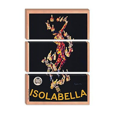 iCanvas Isolabella Vintage Advertisement on Canvas; 40'' H x 26'' W x 1.5'' D
