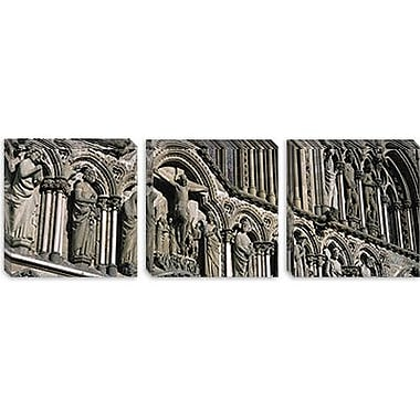 iCanvas Panoramic Trondheim, Norway Photographic Print on Canvas; 16'' H x 48'' W x 1.5'' D