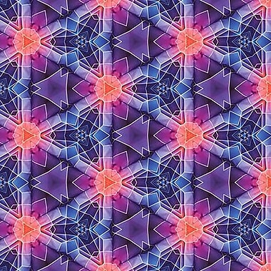 iCanvas 'SCIFI Pattern' by Maximilian San Graphic Art on Wrapped Canvas; 12'' H x 12'' W x 0.75'' D