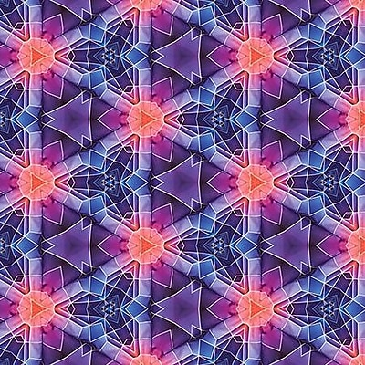 iCanvas 'SCIFI Pattern' by Maximilian San Graphic Art on Wrapped Canvas; 18'' H x 18'' W x 1.5'' D