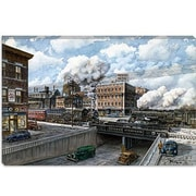iCanvas 'Penn 6500' by Stanton Manolakas Painting Print on Canvas; 8'' H x 12'' W x 0.75'' D