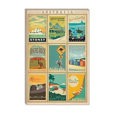 iCanvas 'Australia' by Anderson Design Group Vintage Advertisement on Canvas