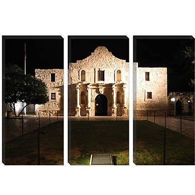 iCanvas Political The Alamo Photographic Print on Wrapped Canvas; 18'' H x 26'' W x 0.75'' D