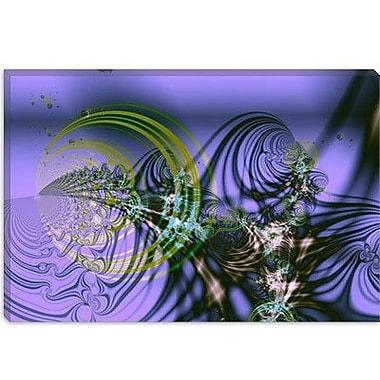 iCanvas Digital Birth Graphic Art on Canvas; 12'' H x 18'' W x 0.75'' D