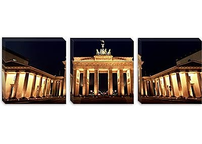iCanvas Panoramic Brandenburg Gate, Berlin, Germany Photographic Print on Canvas