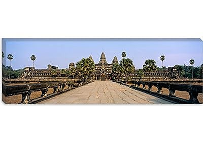 iCanvas Panoramic Angkor Wat, Siem Reap, Cambodia Photographic Print on Canvas