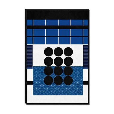 iCanvas Modern Study in Geometry Graphic Art on Canvas; 40'' H x 26'' W x 0.75'' D