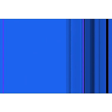 iCanvas True Blue Striped Graphic Art on Wrapped Canvas; 18'' H x 26'' W x 0.75'' D
