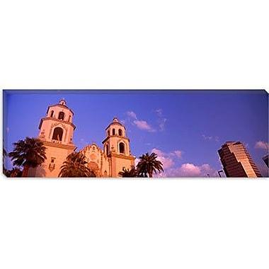 iCanvas Panoramic 'St. Augustine Cathedral, Tucson, Arizona' Photographic Print on Canvas